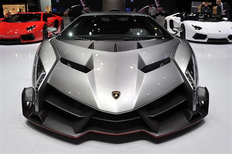 Lamborghini Veneno Front by The Lamborghini Veneno Celebrates 50 Years Of Italy S