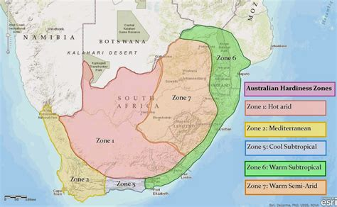 africa zone map roots n shoots south africa climate hardiness zones
