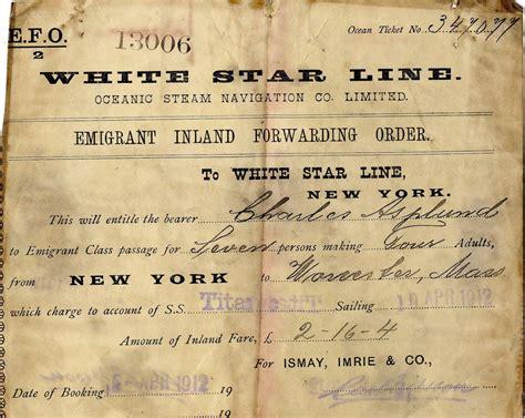 printable titanic tickets titanic at 100 years photos the big picture boston com