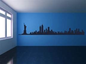 interior design empire state building trend home design new york wall sticker quote dreams home bedroom decal