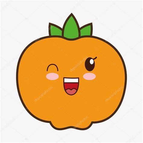 imagenes de naranjas kawaii dise 241 o de alimentos saludables de kawaii de la historieta