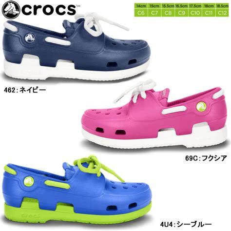 crocs rubber boat shoes reload of shoes rakuten global market crocs kids