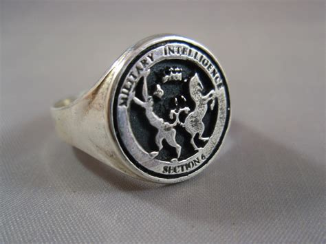 military intelligence section 6 military intelligence mi6 james bond section 6 sterling silver