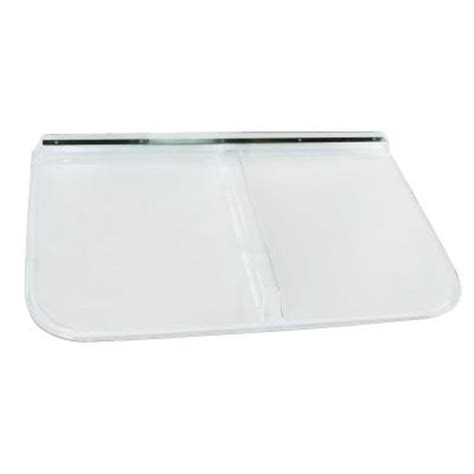 window well cover home depot shape products 42 in x 26 in polycarbonate rectangular