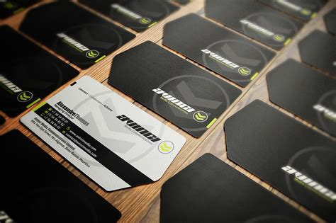 Die Cut Business Card Templates Free by Fish Die Cut Business Cards Image Collections Card