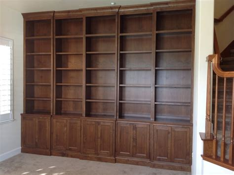 custom bookcases by millen s woodworking with jim millen