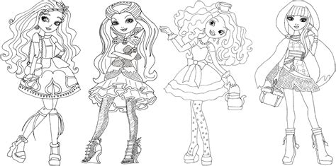 coloring page ever after high ever after high coloring pages coloring home