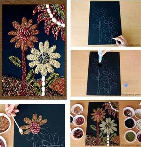 Homemade Flower Pots Ideas 17 best images about arte con semillas on pinterest