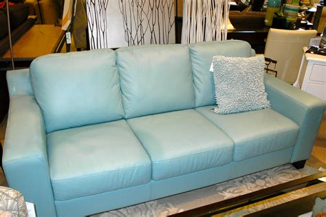 Light Blue Leather Sofa by One Thousand Gifts Summertime Father S Day And A Blue