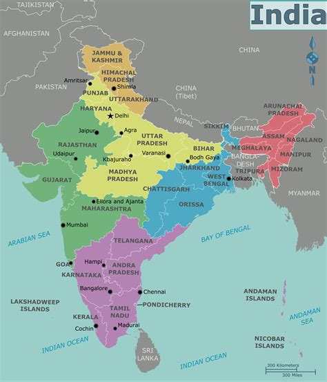 map india india on a world map