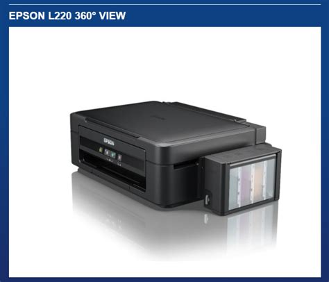 Printer Epson L220 Surabaya epson l220 3 in 1 multi function color printer with integrated ink tanks printer copier scanner