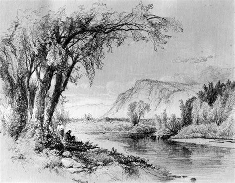 tarzan boat table rock lake best pencil sketch scenery best scenery hd drawings with