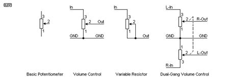 potentiometer wiring schematic 30 wiring diagram images