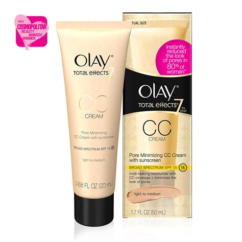 Olay Te Cc Light olay total effects pore minimizing cc fair to light