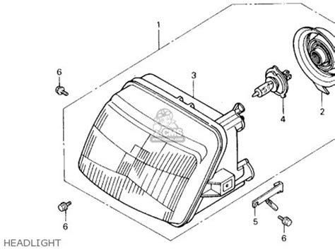 Speedometer Spacy 37211 Kzl 931 honda ch250 elite 250 1989 k usa parts list partsmanual partsfiche