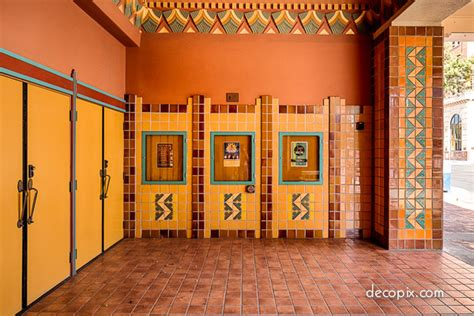 Interiors Of Small Homes Tucson S Art Deco Star The Fox Theatre Decopix