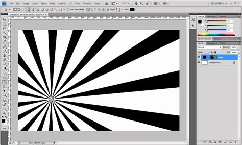 photoshop tutorial x ray effect photoshop tutorial create a burst of rays youtube