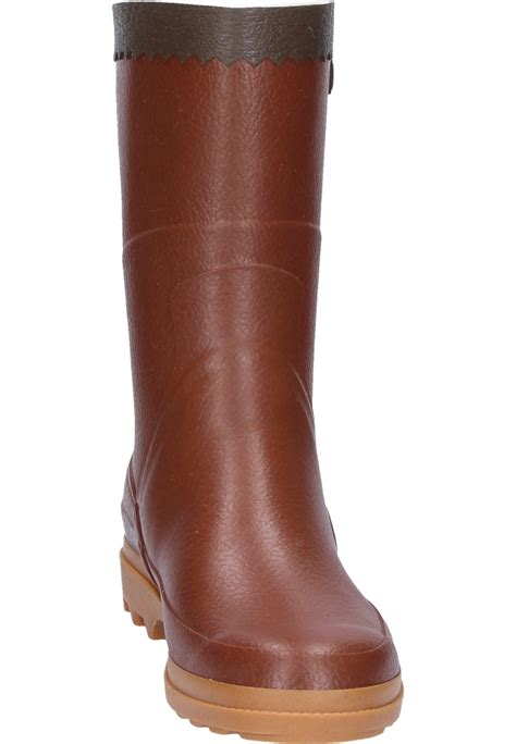 aigle mens boots aigle bison ambre rubber boots a half height universal