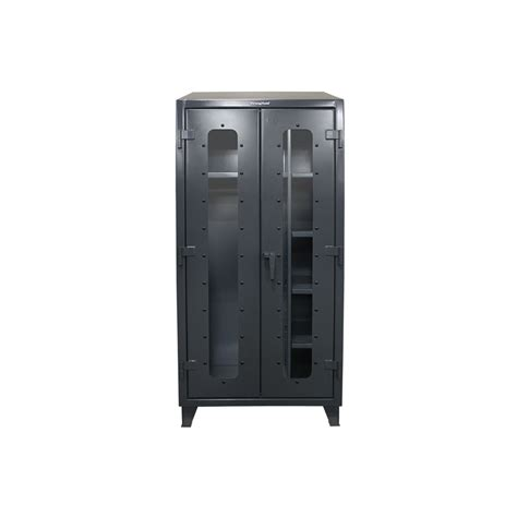 Industrial Cabinet by Strong Hold Industrial Cabinet With See Thru