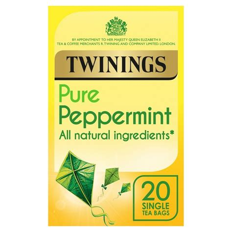 Does Peppermint Tea Detox You by Twinings Peppermint Tea 20 Per Pack From Ocado