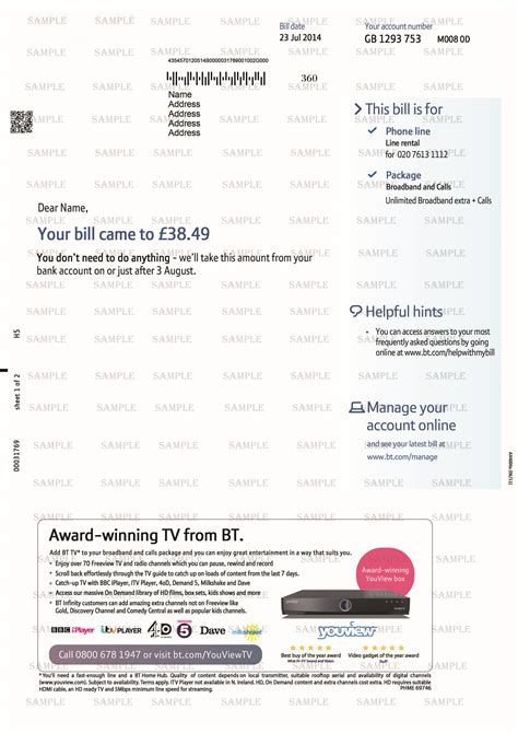 utility bill template uk documents bank statements utility bills
