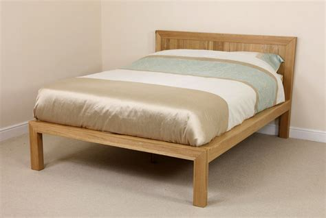4ft 6 double bed fresco natural solid oak 4ft 6 quot double bed bedroom furniture