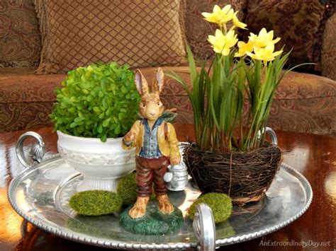 Sofa Types Be Inspired By This 10 Minute Easter Vignette An