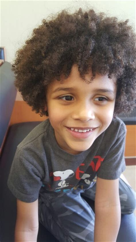 pics of different biracial boys hair cuts my mixed kid curly hair afro adorable taking some last