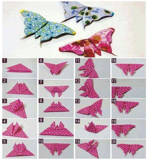membuat kolase dari kertas lipat berbagai jenis origami binatang kerajinan tangan lipat