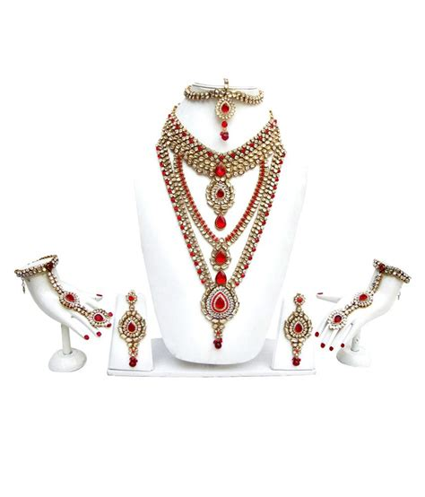 Hdfc Credit Card Reward Points Gift List - lucky jewellery red kundan set buy lucky jewellery red kundan set online in india