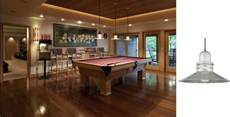 game room light fixtures convert your basement into a game room with new lights