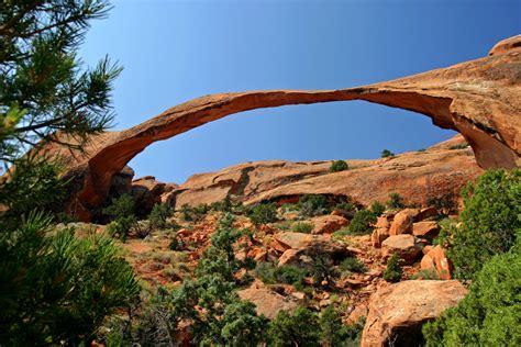 Landscape Arch Moab Landscape Arch Arches National Park Moab Utah
