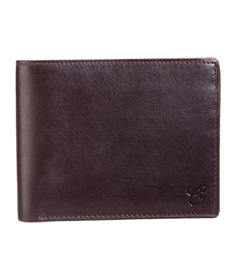 Contrast Color Wallet contrast genuine leather brown color wallet with coin