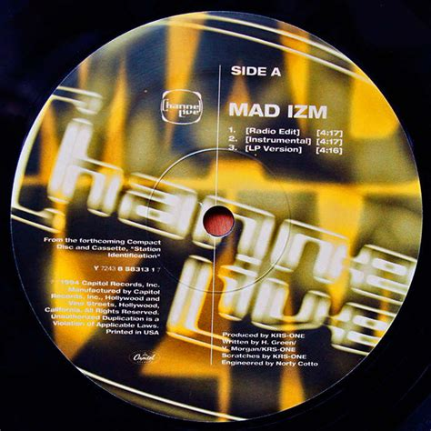 Krs One Mad Izm Reprogram 12 mad izm reprogram by channel live 12inch with oldiers