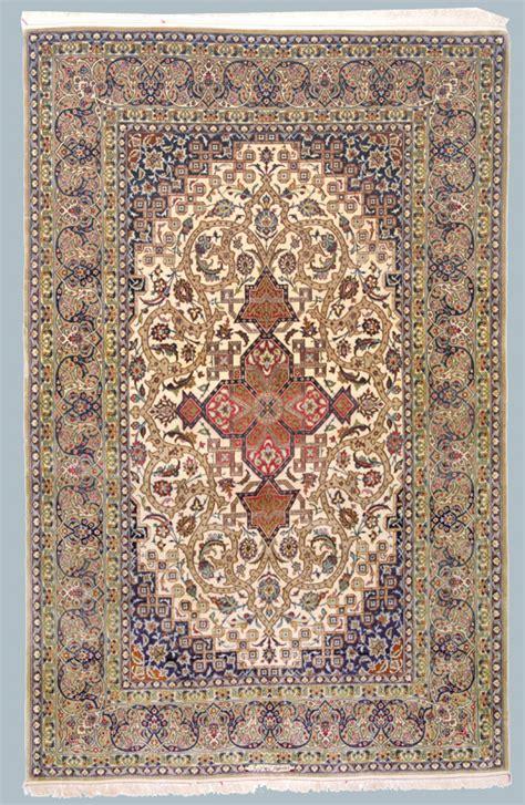 tappeti isfahan tappeto persiano isfahan trama ed ordito in seta finissima