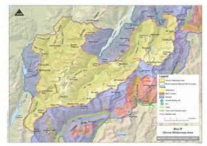 maps mount aspiring national park management plan publication