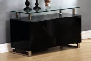 black glass sideboards black high gloss sideboard homegenies