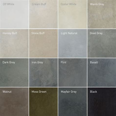 colors that work in concrete grey apartment recommended polished concrete colours concrete floor