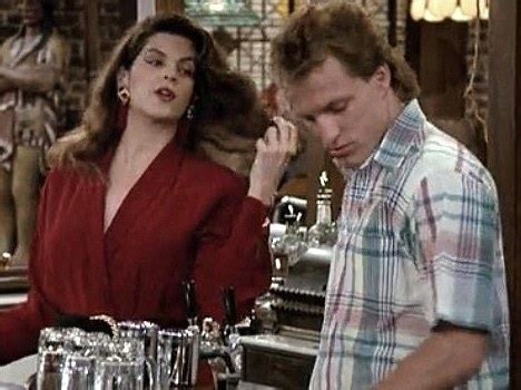 movie actor had a hit in 1985 as a musician kirstie alley tells all woody harrelson incessantly