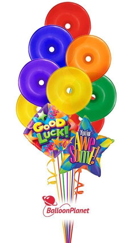 Good Luck Lifesavers Balloon Bouquet (9 Balloons