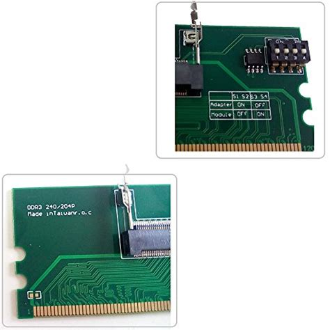 Memory Card Ddr3 free shipping qnine laptop ddr3 ram to desktop adapter card memory tester 204pin sodimm to