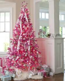 christmas tree decorations pink christmas decorating