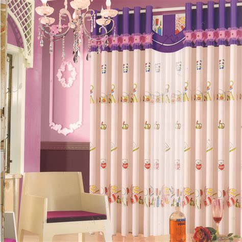 curtain for baby girl room animal patterns cotton baby girl room curtains