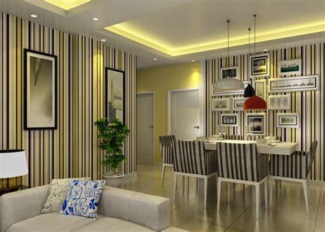 Karpet Bulu Sintetis Ruang Rusa desain wallpaper ruang makan keluarga nirwana deco