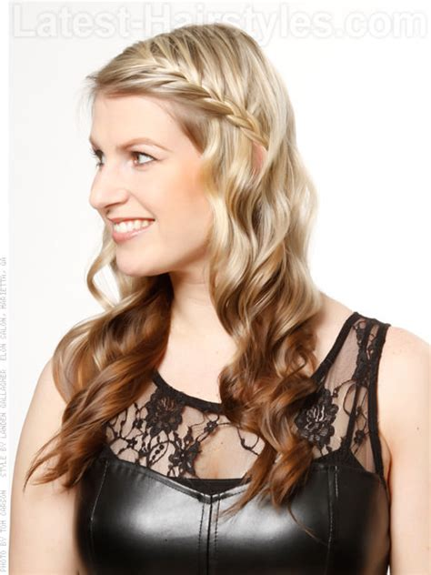 bangs braids and long hairstyles side swept bangs 43 ideas that are hot in 2018