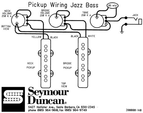 wiring diagrams for guitars basses