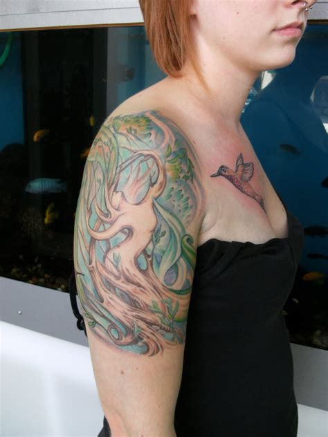female half sleeve tattoos designs design ideas