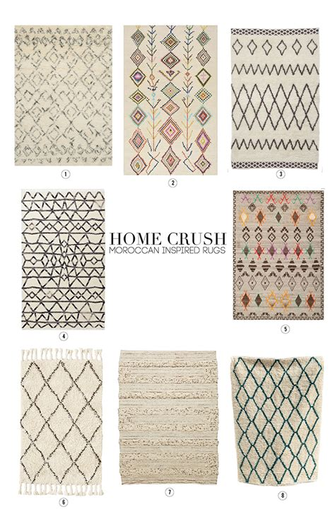 Alice And Loishome Crush Moroccan Inspired Rugs