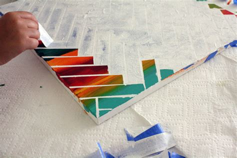 diy canvas painting projects diy paint project weekend home decor ideas