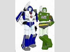More Mirage and Hound by tactilecontact on DeviantArt G1 Transformers Mirage Review